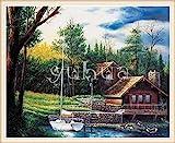 SBNKYQSL 5d DIY Diamant malerei kreuzstich Cartoon fee Paar Liebe Tier Landschaft mosaik Farbe Blume...