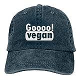 Jopath Gehen Sie Vegan Unisex Baseball Cap Verstellbare Outdoor Mesh Cap Trucker Hüte
