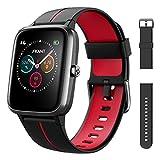 FKANT Smartwatch Herren Damen GPS Fitness Armband Sportuhr Bluetooth 1.3'' Voll Touchscreen 5ATM...