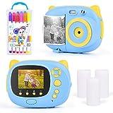 Upgrow Sofortbildkamera Kinder Kamera, Digitalkamera für Kinder, 24 Megapixel HD Kamera mit 2.4'...