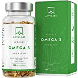 Omega 3 Vegan [1100 mg ] - Omega-3-Fettsuren aus Algenl - 300 EPA and 600 DHA pro Tagesdosis - 100%...