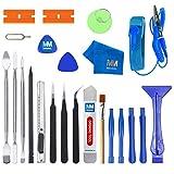 MMOBIEL 23 in 1 Professionelles Premium Reparatur ffnungs Werkzeug Set Inkl. Antistatischem Armband