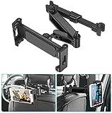 SAWAKE Tablet Halterung Auto Kopfstütze, Tablethalter Auto 360° drehbar Tablet kfz Halterung...