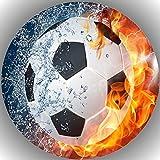 JMD Premium Esspapier Tortenaufleger Fußball Y11