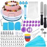 [Neueste] 150 Teiliges Tortenplatte Drehbar Tortenständer Kuchen Drehteller Cake Decorating...