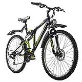 KS Cycling Mountainbike ATB Fully 26' Zodiac schwarz RH 48 cm