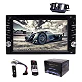 EINCAR Car Stereo Doppel-DIN-Radio-Touch Screen Auto-CD-Player mit Bluetooth 6.2 Zoll Digital Media...