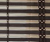 VERDELOOK Afrika, Rollladen aus Bambusleiste, 200 x 300 cm, Dunkelbraun