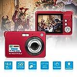 YJJ Mini-Digitalkamera, Mini-Digitalkamera Pocket-Kameras Digital mit Zoom fr Urlaub Familie,...