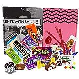 Süßigkeiten Box aus Amerika | American Sweets Box als Geschenk, Geschenkidee für Frauen Männer |...
