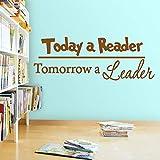 Dongwall Die Leser von Heute und die Wandaufkleber von Morgen bieten die Bildungsversion 116X42 cm