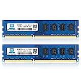 DDR3L-1600 UDIMM 16GB Kit (2x8GB) PC3L 12800 8GB Unbuffered Non-ECC 1.35V CL11 2Rx8 PC3/PC3L 12800U...