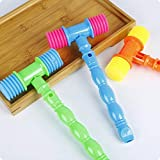 LPER Puzzles Spielzeug für Kinder, Puzzle Spielzeug 12 Stück Kunststoff Vocal Percussion Hammer...
