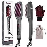 fayleer Glättbürste Haarglätter Bürste Glättungsbürste Haare Glätten Hair Straightener...