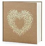 Gästebuch Hochzeit Hochzeitsgästebuch Fotoalbum Hochzeitsalbum Hochzeitsbuch mit Herzverzierung...