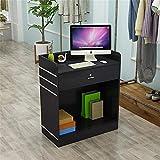 VHGYU Rezeptionstheken Small Shop Retro Cash Register Ständer mit Schublade Friseur...