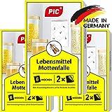 PIC Lebensmittel-Mottenfalle - Dreierpack = 6 Stck - Mittel zur Bekmpfung und Schutz vor Motten in...