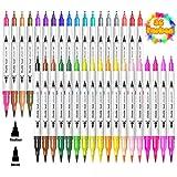 36 Farben Filzstifte Dual Brush Pen Set für Bullet Journal Zubehör Malstifte Filzspitze Filzstifte...