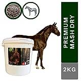 EMMA® Mash Pferd I Omega 3 Ergänzung haferfrei I hoher Anteil Leinsamen geschrotet I alte Pferde...