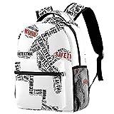 Sicherheitsschild Mädchen Schulranzen Rucksack Gurt Kinder Schulrucksack für Mädchen...