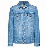 Himora novelty-outerwear-jackets Jeansjacken für Herren, Dunkelblau, lässig, Denim-Jacke,...