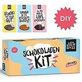 Just Spices DIY Schokoladen Kit   Mit 2x Silikonformen und 11 Gewürzen Schoko Tafeln selber machen...