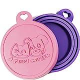 Rollmops 2er-Set Dosendeckel für Tierfutter   Lebensmittelechtes Silikon   3in1 Passform   Katzen &...