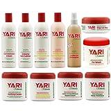 Set of 11 Yari Product Includes Yari Co-Wash,Leave-in Repair & Softner Conditioner, Deep Mask...