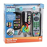 Tech Too DES0889 3er Spiel Set mit authentischer Fernbedienung, Handy und Autoschlüssel,...
