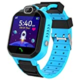 Kinder SmartWatch - MP3 Musik 7 Spiele Kids Smart Watch HD Touchscreen SOS Voice Chat Scherzt...