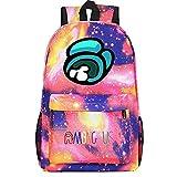 BAOYIHAI Among us Kinderrucksack, Kinderrucksack für 6-16 Jahre Alte Schultaschen für Jungen und...