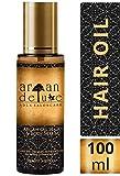 Argan Deluxe Haarl in Friseur-Qualitt 100 ml - Geschmeidigkeit, Glanz und toller Duft fr Haare und...