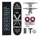 Erwachsene Kinder Skateboard Komplett PRO Skateboard mit Outdoor-Sport Durable Skateboard Geeignet...