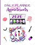 Daily Planner Appointments 2020: Diary Schedule Agenda Organiser for Mobile Hairdresser / Stylist /...