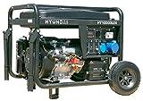 HYUNDAI Benzin-Generator HY10000LEK D, Notstromaggregat mit 8.2 kW (230 V) Leistung, Stromerzeuger...
