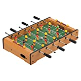 Virhuck Mini Tischplatte Tischkicker Tischbillard, Indoor & Outdoor Tisch Fußball Spiel Set für...