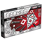 Geomag, Classic Black and White 013, Magnetkonstruktionen und Lernspiele, 104-teilig