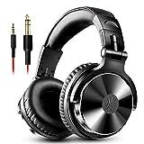 LHYXEJ Big Earmuffs Headset kabelgebundene Kopfhörer, E-Piano-Disc-Player Musikinstrument Stil,...
