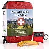 GoLab Erste Hilfe Set Outdoor - Survival Kit. Sport & Reise First Aid Kit mit Notfallbeatmungsmaske...
