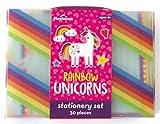 Playhouse 29-teiliges Schreibwaren-Set für Kinder, Motiv: Rainbow Unicorn