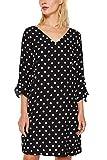ESPRIT Collection Damen 999EO1E806 Kleid, Schwarz (Black 3 003), (Herstellergröße: 42)