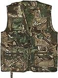 normani Outdoor Jagd- Angler Weste mit vielen praktischen Taschen? Farbe Hunting Camo Gre L