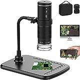 CCCYT Drahtloses Digitales Mikroskop, Mini Handgehalten USB Kamera 50X bis 1000X Vergrößerung...