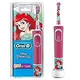 Oral-B Kids Prinzessin Elektrische Zahnbürste für Kinder ab 3 Jahren, kleiner Bürstenkopf &...