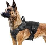 rabbitgoo Hundegeschirr für Große Hunde Taktische Hundegeschirrweste mit Griff No Pull...