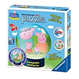 Ravensburger 12247 - Peppa Wutz - 3D-Puzzle und Lampe 2 in 1