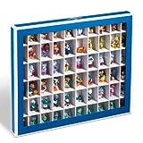 Leuchtturm Sammelbox, Setzkasten K60 mit 60 Fchern, blau