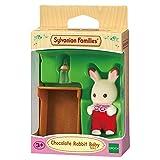 Sylvanian Families 5062 Schokoladenhasen Baby ROSI Lffel, Minipuppe, bunt
