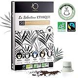 Nespresso Kapseln Kompatibel | BIO FAIRTRADE Arabica Kaffee in Kapseln Biologisch abbaubar | Premium...