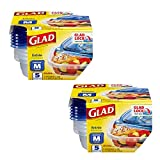 Glad Frischhaltedosen Medium Square (25 Oz) - 10 Count Standard